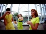 Свадебный клип, где невеста с женихом поют